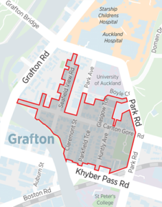 grafton parking zone