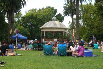 Auckland Domain Band Rotunda