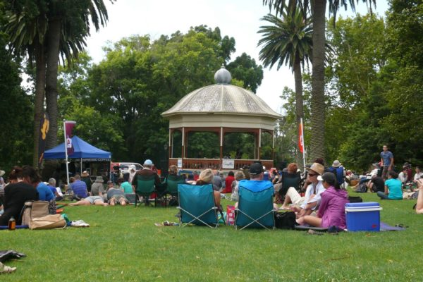 Auckland Domain Band Rotunda